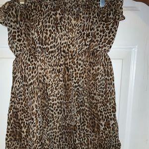 Tube strapless dress